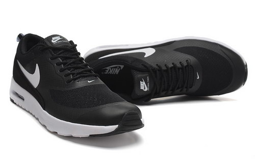 Womens Nike Air Max Thea Black White Discount Code